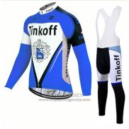 2017 Jersey Tinkoff Long Sleeve Blue