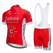 2018 Jersey Cofidis Red and White