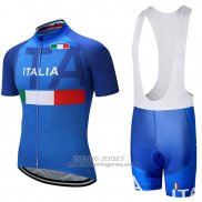 2018 Jersey Italy Blue