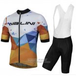 2018 Jersey Nalini Ahs Discesa White and Orange