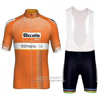 2018 Jersey Women Boels Dolmans Orange