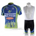 2010 Jersey Merida Blue And Green