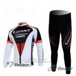 2011 Jersey Giant Long Sleeve Black And White