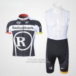 2011 Jersey Radioshack Black And White