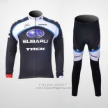 2011 Jersey Subaru Long Sleeve White And Black