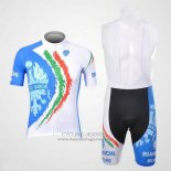 2012 Jersey Bianchi White And Light Blue