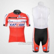 2012 Jersey Katusha White And Orange