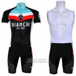 2013 Jersey Bianchi Black And Light Blue