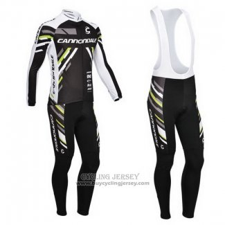 2013 Jersey Cannondale Long Sleeve Black