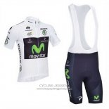 2013 Jersey Movistar Lider White