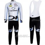 2013 Jersey Orbea Long Sleeve Black And White