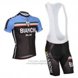 2014 Jersey Bianchi Black And Blue