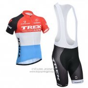 2014 Jersey Trek Factory Racing Orange And White