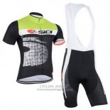 2015 Jersey Castelli SIDI Black And Green