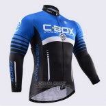 2015 Jersey Fox CyclingBox Long Sleeve Black And Blue