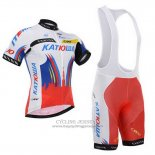 2015 Jersey Katusha White And Red