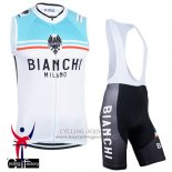 2015 Wind Vest Bianchi White And Blue