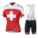 2016 Jersey Switzerland White And Red