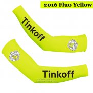 2016 Saxo Bank Tinkoff Arm Warmer Yellow
