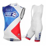 2016 Wind Vest FDJ Red And White