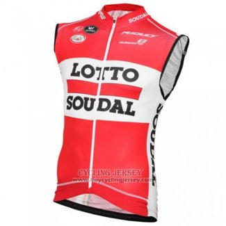2016 Wind Vest Lotto Red And White
