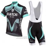 2017 Jersey Bianchi Milano Black And Green