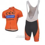 2017 Jersey CCC Black And Orange