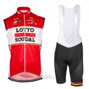 2017 Wind Vest Lotto Soudal Red