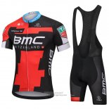 2018 Jersey BMC Red Black