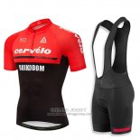 2018 Jersey Cervelo Red and Black