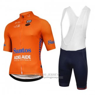 2018 Jersey Tour Down Under Santos Orange