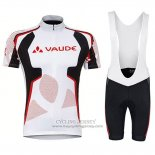 2018 Jersey Vaude White Red