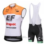 2018 Wind Vest Cannondale Drapac White and Orange