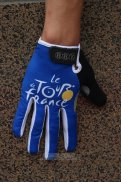 Tour De France Full Finger Gloves Blue