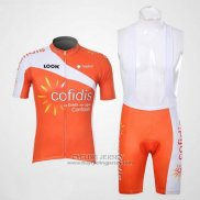 2012 Jersey Cofidis Orange