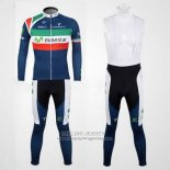 2012 Jersey Movistar Champion Italia Long Sleeve