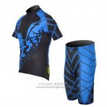 2014 Jersey Fox CyclingBox Black And Blue