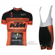 2015 Jersey KTM Black And Orange