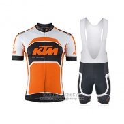 2015 Jersey KTM White And Orange