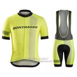 2016 Jersey Bontrager Black And Yellow