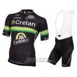 2016 Jersey Crelan AA Black And Green