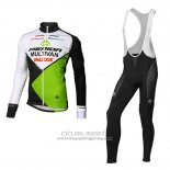 2016 Jersey Multivan Merida Long Sleeve Green And White