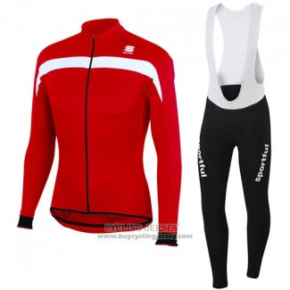 2016 Jersey Sportful Long Sleeve Red And White