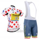 2016 Jersey Tinkoff Red And Lider White