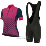 2017 Jersey Women ALE Excel Bolas Black And Pink