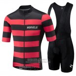 2018 Jersey Morvelo Black and Red