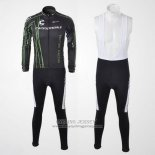 2010 Jersey Cannondale Long Sleeve Black