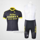 2010 Jersey Johnnys Black And Yellow