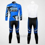 2012 Jersey Saxo Bank Long Sleeve Blue And Black