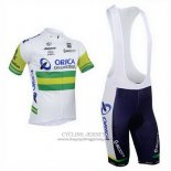2013 Jersey Orica GreenEDGE White